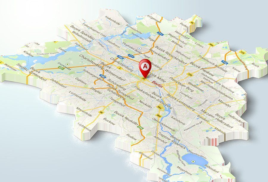 mapa de localización 3d