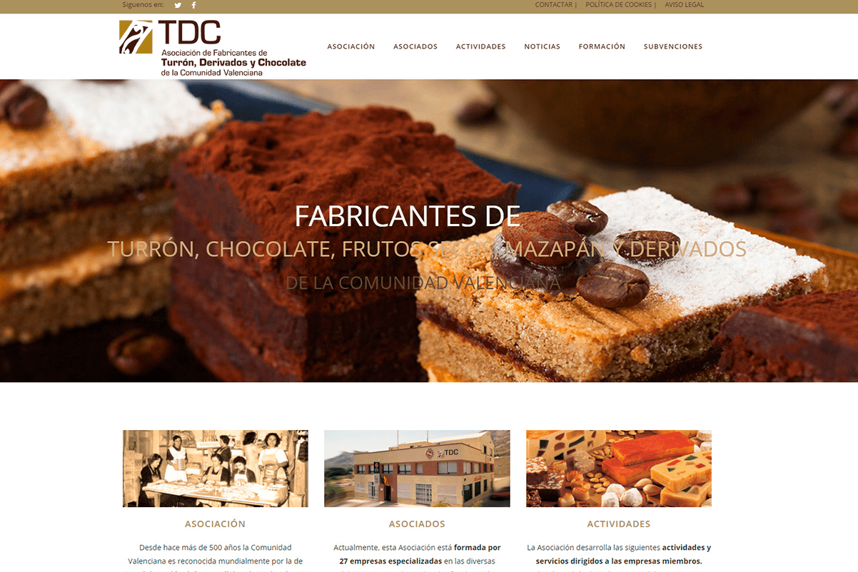 DISEÑO-WEB-CHOCOLATES