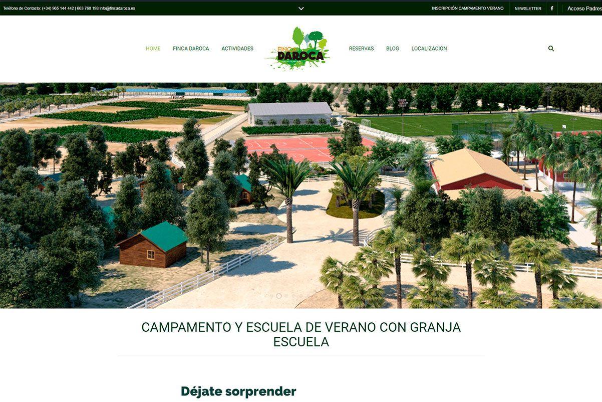 página-web-finca-daroca