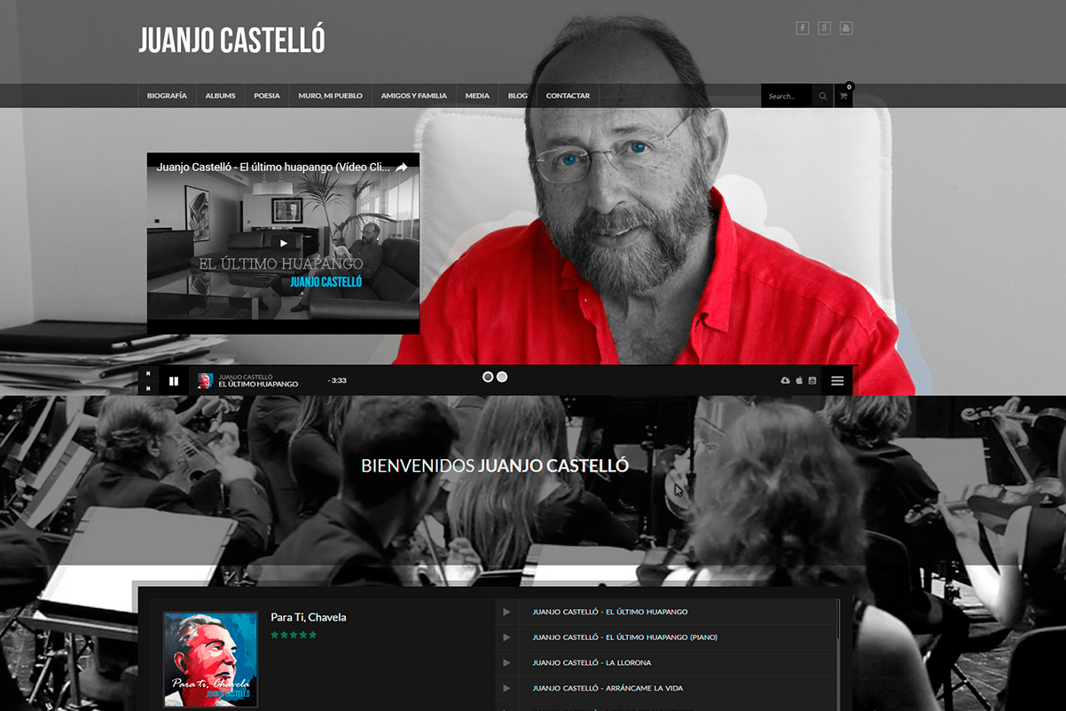 pagina-web-cantoautor