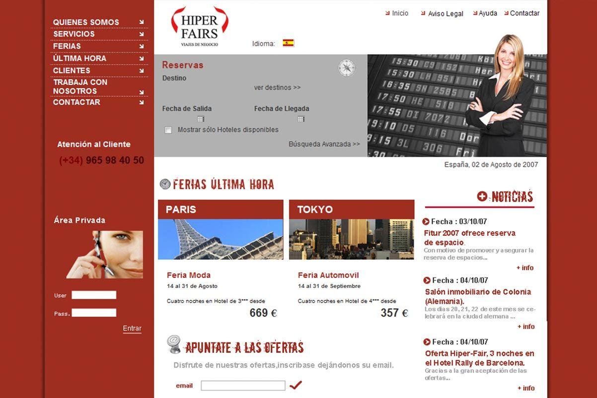 pagina-web-viajes